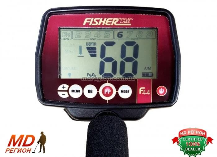 купить металлоискатель Фишер Ф44 купить в Киеве и Украине
