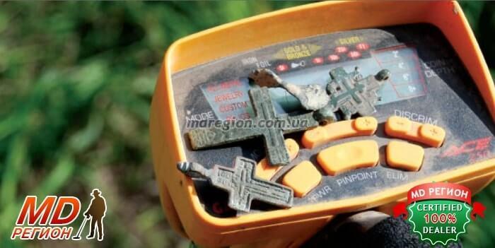 Поиск и находки с металлоискателем гарет асе 250