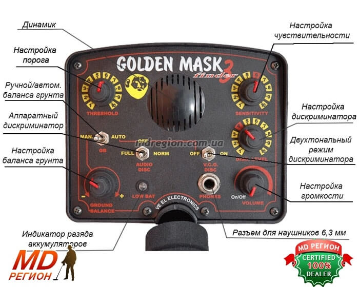 Golden Mask 3 киев недорого