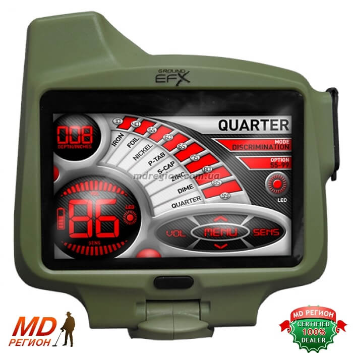 Ground EFX MX400 экран